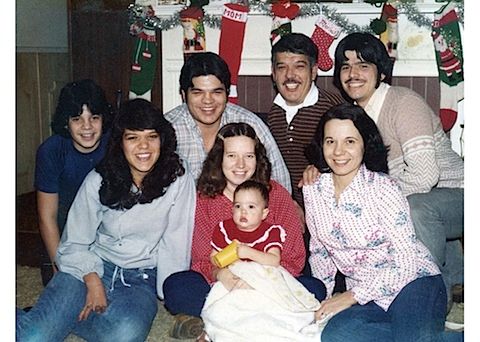 Jan 7 1980 Rich, Cindy, Chris, Carol, Maria, Raul, Mary, Bob Lozano 300.jpg